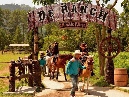 de rach lembang wisata ala cowboy
