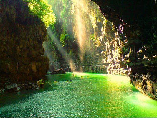 green canyon pangandarfan